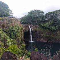 Rainbow Falls is a beautiful waterfall that you can drive right up to on the Big Island. Admission is free!
