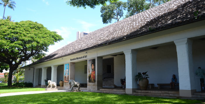 The Honolulu Museum of Art is an oasis in a busy city and a great place to spend a quiet afternoon.