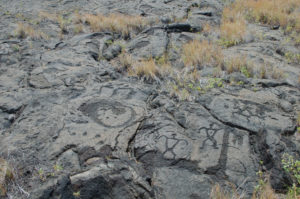 These petroglyphs tell a story.
