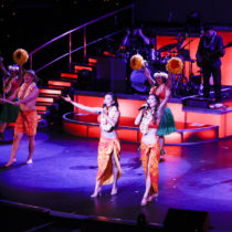 Rock-a-Hula is a Vegas-style show that mixes the spirit of Aloha with the sparkle of Las Vegas.