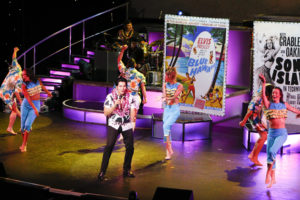 Elvis makes a special appearance and makes the audience swoon!