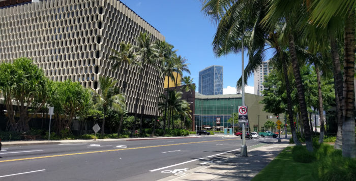 Visit South Shore Market in Honolulu for a large selection of locally made products.
