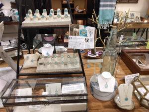 Flotsam & Co sells handmade jewelry made on Oahu.
