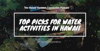 Water Activities in Hawaii couple snorkeling