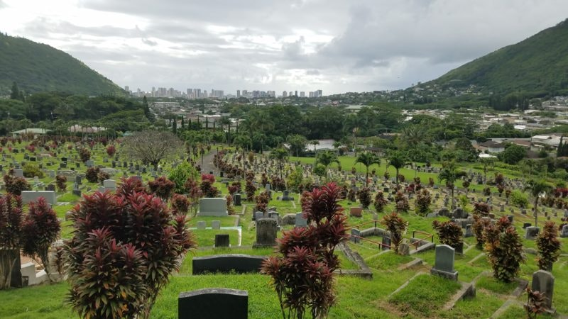 Manoa Chinese Cemetery links to the past