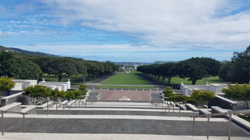 National Memorial Cemetery of the Pacific at Punchbowl