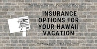 Hawaii vacation insurance title graphic