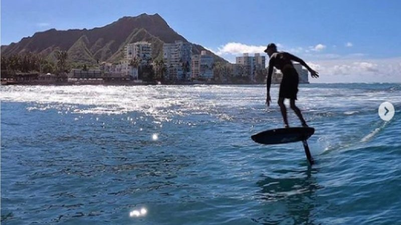 Learn to Foil Surf in Hawaii