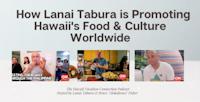 Lanai Tabura eating