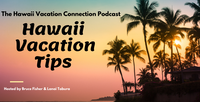 Hawaii beach setting