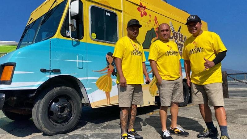 Aloha Plate Food Truck races along on Food Network